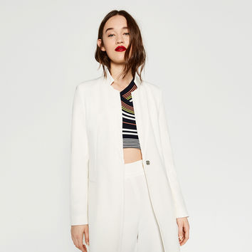 CREPE BLAZER - BLAZERS-WOMAN | ZARA United Kingdom