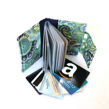 card holder wallet - loyalty card holder - credit card wallet - small photo album - brag book - business card holder - coupon organizer
