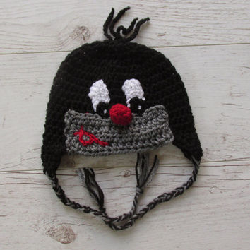 Little Mole Hat Crochet Mole Hat baby Mole Hat  Newborn  Mole Animal Hat Crochet baby Hat   Photo Prop Mole Costume Beanie Outfit