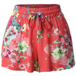 Womens Lightweight Loose Floral Printed Summer Shorts
