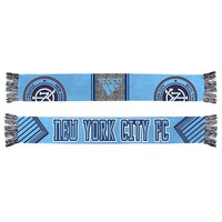 adidas New York City FC Authentic Draft Scarf - Adult, Size: One Size (Blue)
