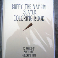 Buffy The Vampire Slayer Coloring Book