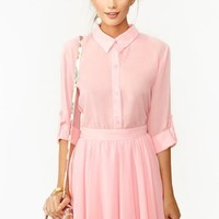 Camille Blouse - Pink