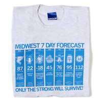 Midwest Forecast T-Shirt