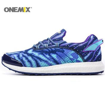 Onemix Running Shoes Men Sneakers For Women Sport Shoes Athletic Zapatillas Outdoor  Breathable Original Shoes For Hombre 1136