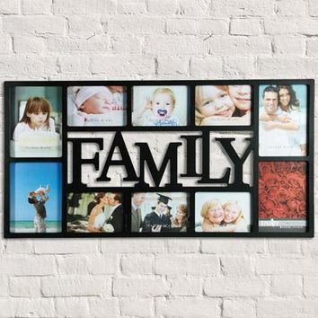 Family Photo Frame (10 Photos)