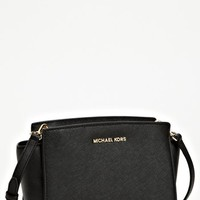 MICHAEL Michael Kors 'Medium Selma' Saffiano Leather Crossbody Bag | Nordstrom