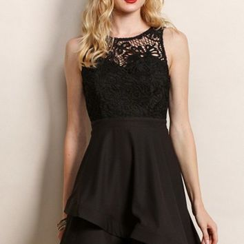 Anastasia Lace Fit and Flare Dress - LAST FEW