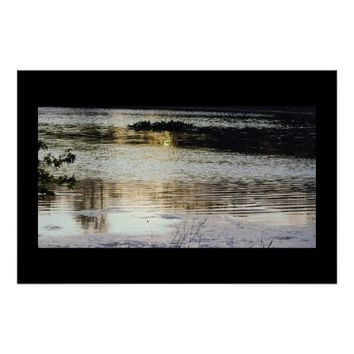 Waterscape Reflections Poster