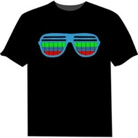 Light Up Shades Tshirt : Equalizer Shirts Available in many styles!