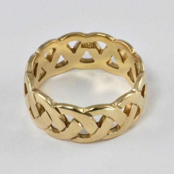 Wedding Ring Vintage 1970s Ladies 14kt From Affordable