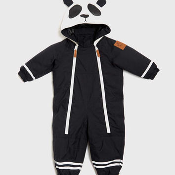 Mini Rodini Expedition Alaska Baby Overall Black - One Hip Kid