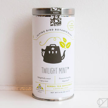 Flying Bird Botanicals Twilight Mint Gift Tea