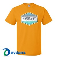 Waters Bluff T Shirt Women And Men Size S To 3XL | Waters Bluff T Shirt
