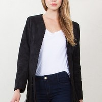 Penny Lane Suede Jacket*