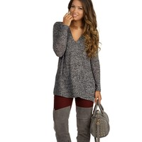 Charcoal My Side Sweater
