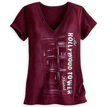 Hollywood Tower Hotel Tee for Women | Disney Store