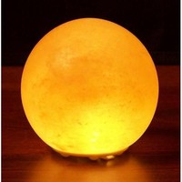 Himalayan Salt Crystal Lights Planet Globe Lamp - 6 inch