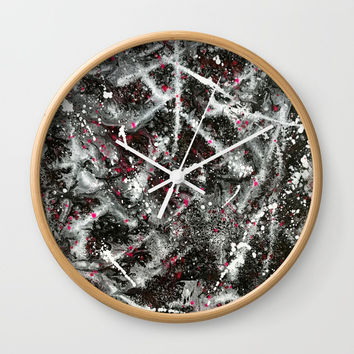 Positive Energy Revolve Wall Clock by Artist CL