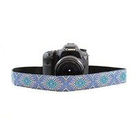 Moroccan Sea 1.5In Camera Strap - Capturing Couture - CASLR15-MSEA