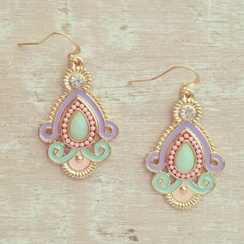 PARISIAN PRINCESS EARRINGS