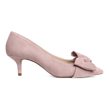 H&M Pumps with Bow $69.99