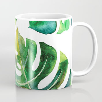 Wildness In Monstera Mug by cadinera