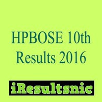 HPBOSE 10th Result 2016:Live HP Board Result at www.hpbose.org