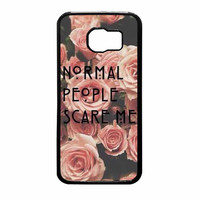 American Horror Story Normal People Scare Me Samsung Galaxy S6 Case