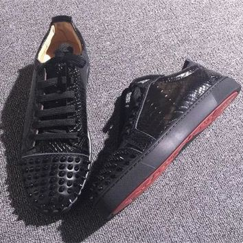 Cl Christian Louboutin Low Style #2058 Sneakers Fashion Shoes - Best Online Sale