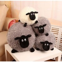Shirley Sean Lamb Doll Toy Doll Fleece Pillow Valentine Gift To Send Girls for Children's Gift Kids Toys