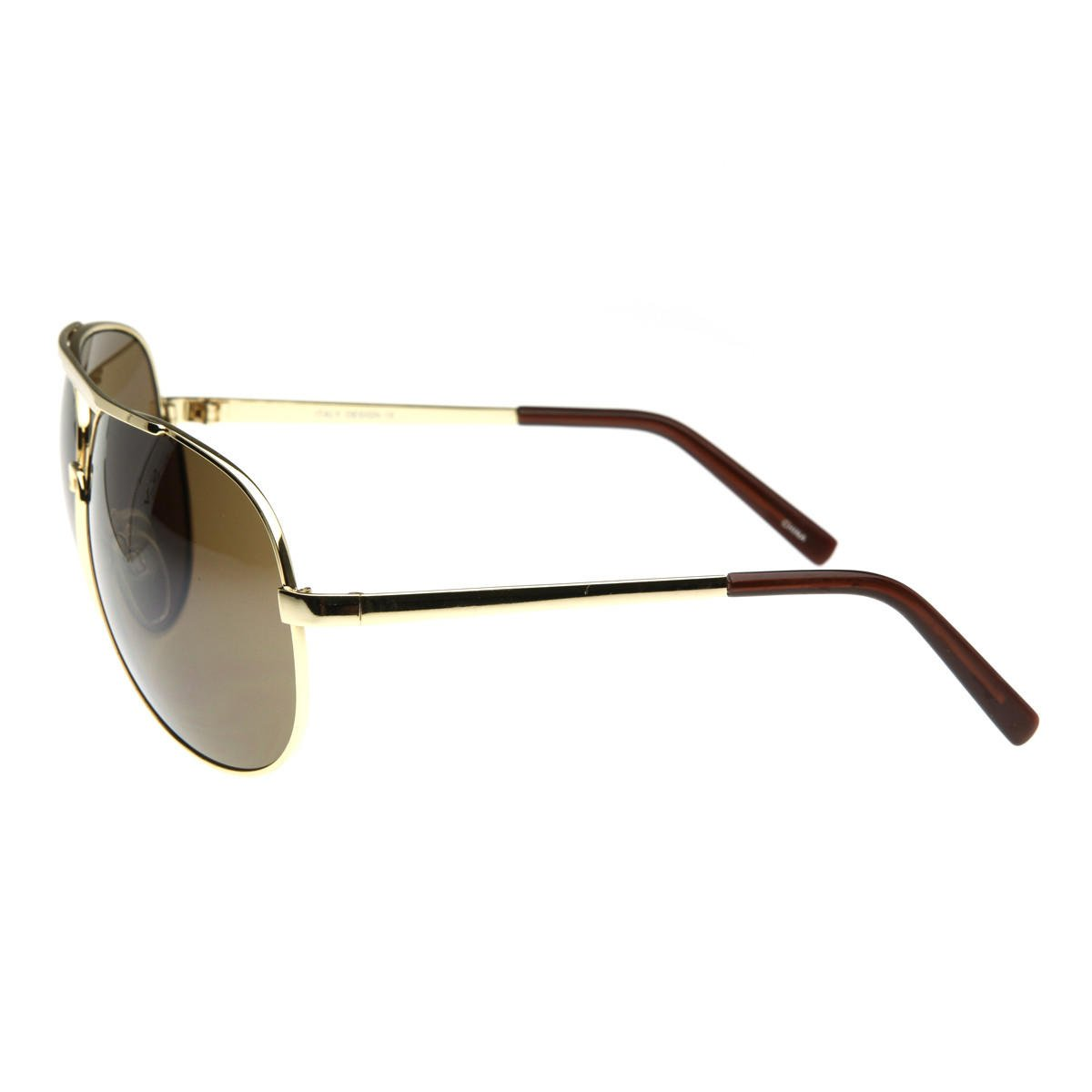 Extra Large Metal Oversize Frame Aviator from zeroUV | Glasses
