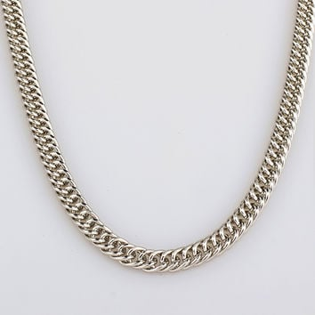 Jewelry Shiny New Arrival Gift Stylish Accessory Silver Hip-hop Necklace [10529029379]