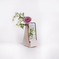 STAK Bloom Phone Vase, Pale Pink