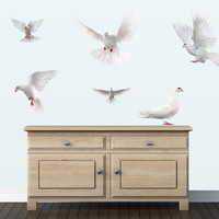Doves Wall Decals