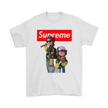 Dustin And Steve Stranger Things Supreme Shirts