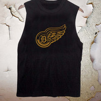 Detroit Yellow Wings and Tigers D funny tanktop for men and women
