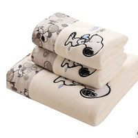 New Towel 2pcs/Set 100% Cotton Bath Beach Face Towel Sets for Adults 35cm*75cm*1p 70cm*140cm*1p Fiber Gift Bathroom Baby Towels
