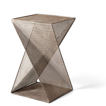 """Perforated Metal Table 24"""""""