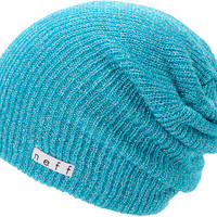 Neff Girls Daily Sparkle Cyan Beanie at Zumiez : PDP