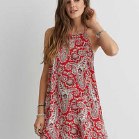 AEO HI-NECK SHIFT DRESS