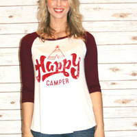 "Fiona's ""Happy Camper"" Tee"