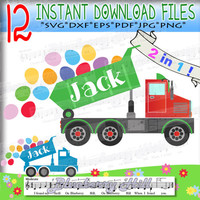 Easter Truck svg - Easter Egg Truck Svg - Easter cuttable files -  Easter eggs Clipart Svg - Cut Files - Svg - Dxf- Eps - Png -Jpg - Pdf