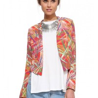 Raging Multiprint Blazer