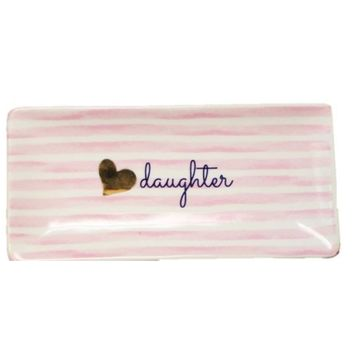 Daughter Ceramic Trinket Tray