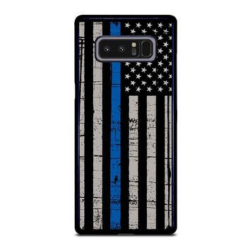 THIN BLUE LINE FLAG Samsung Galaxy Note 8 Case Cover
