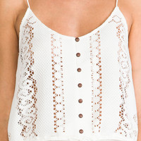 DV by Dolce Vita Sierra Tank in Blanc from REVOLVEclothing.com