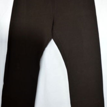 Pants Casual Sz Med Chaps Chocolate Brown Pull On  Stretch Easy Wear