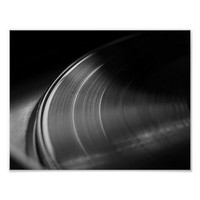 Poster: Vinyl Record and Turntable Poster