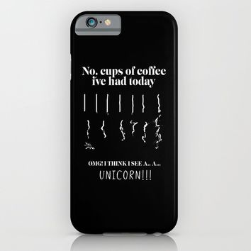 OMG I see unicorns iPhone & iPod Case by HappyMelvin